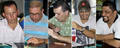 Finalistas Torneo Nacional de Scrabble 2013