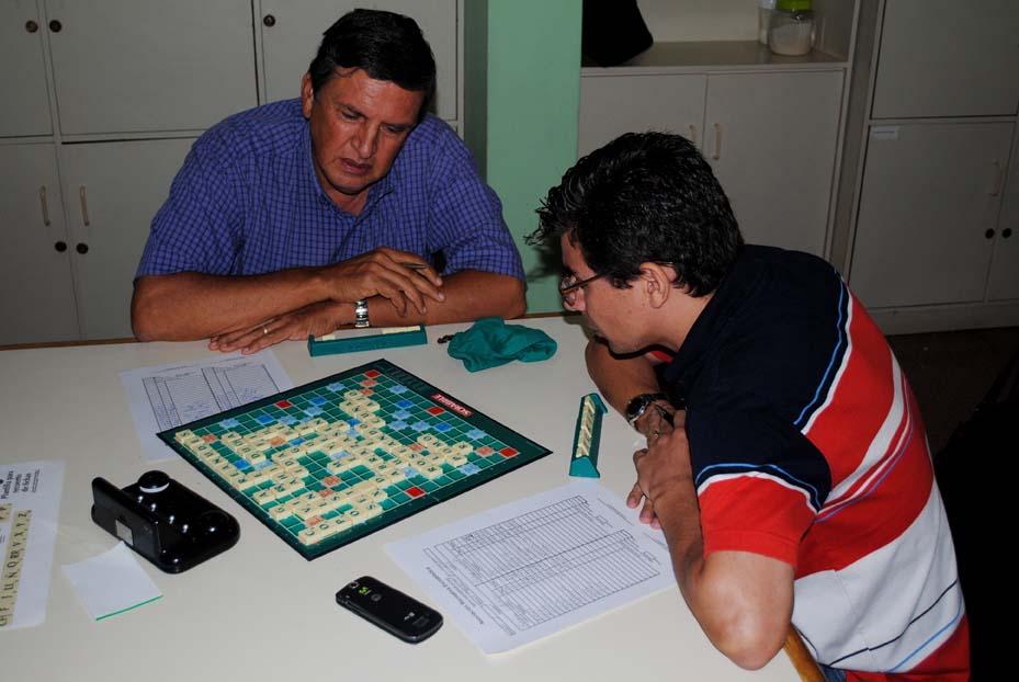 Partida entre Enrique Villalobos y Rodrigo Granados por la primera ronda del Torneo de Repesca